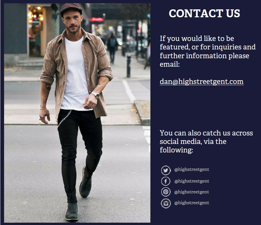 Contact Us - High Street gent
