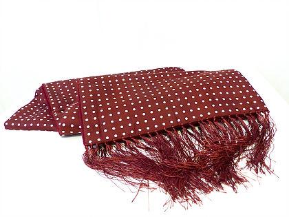 Classy Polka dot scarf