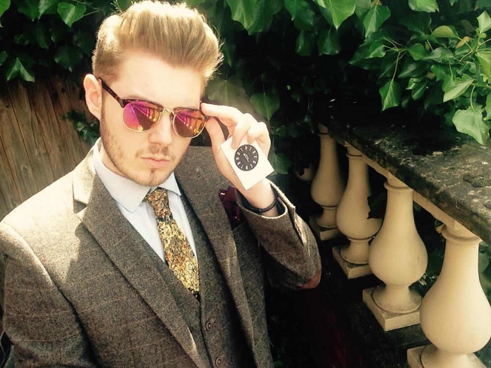 Brother & Gent Sample English Garden Tie