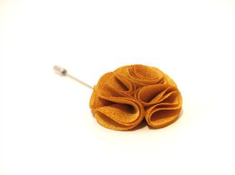 Weding - Golden flower lapel