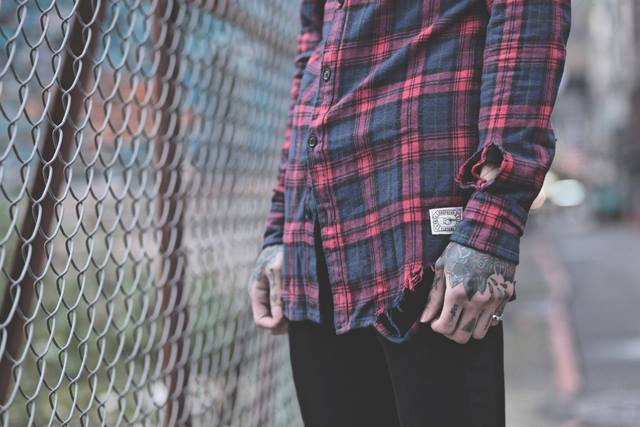 Hipster check shirt